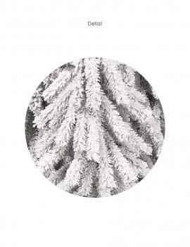 Choinka Świerk Alpejski 90cm śnieżony