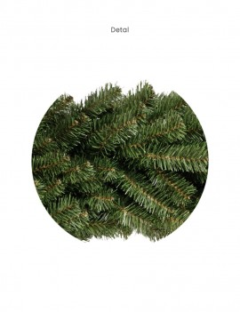 Wianek Czesany/ Wreath series Combed 50cm