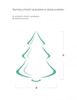 Choinka / Tree Naturalna 180cm