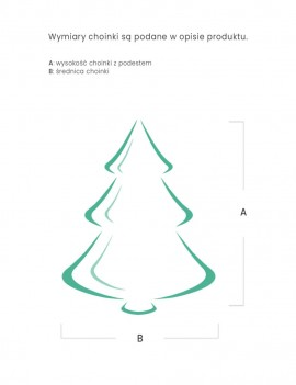 Choinka / Tree Naturalna 210cm