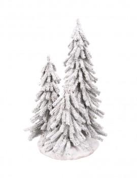 Drzewka Alpejskie w jucie 70,55,40 cm osniezone